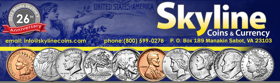 Buy Collectible Coins Online, Rare US Coins | SKYLINE